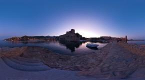 Photos 360°de Collioure, un des plus beaux paysages de France